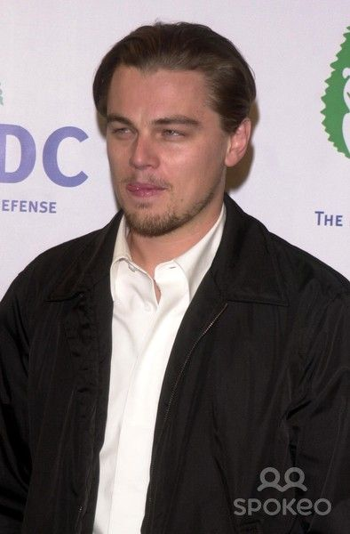 Leonardo DiCaprio at the NRDC's Fight Global Warming Concert with the Rolling Stones, Staples Center, Los Angeles, CA 02-06-03