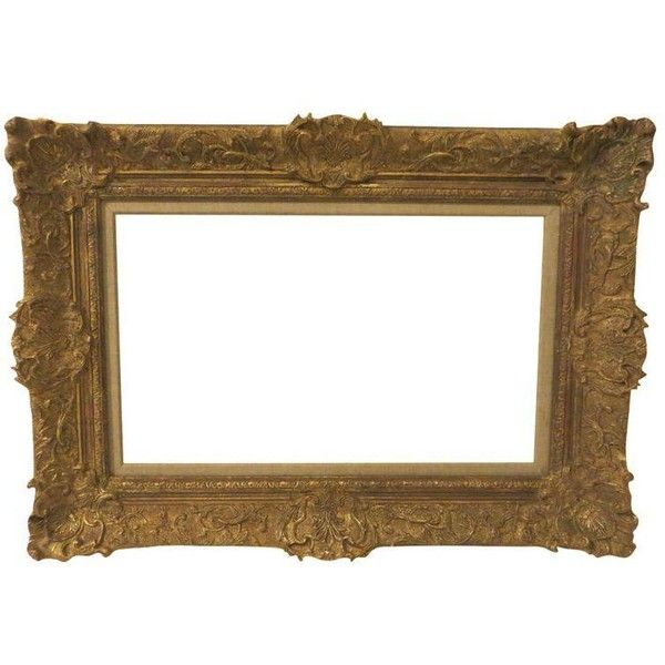 Vintage 20th Century French Style Gilded Frame (3005 DKK) ❤ liked