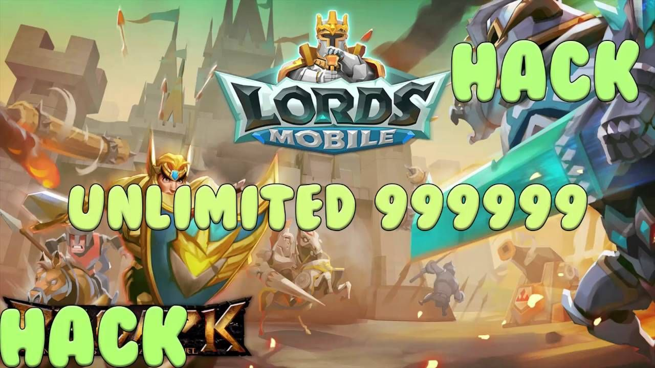 LORDS MOBILE GET UNLIMITED RESOURCES Coins