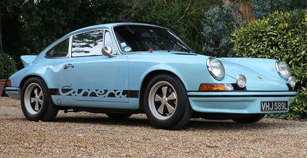 1973 Porsche 27 Carrera Rs Lightweight M471 Lhd Porsche