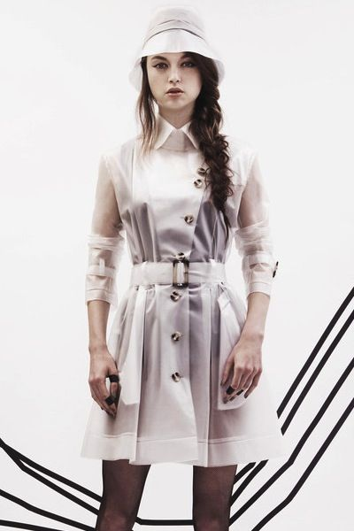 Tribeca Clear Rain Coat   10 Best Raincoats   Camille Styles
