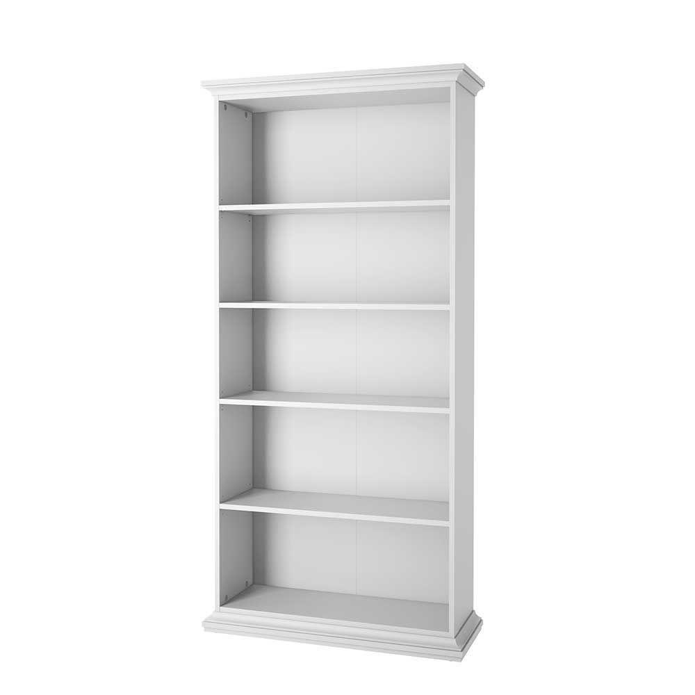 Design Regale Und Bücherschränke standregal in weiß skandinavisches design jetzt bestellen unter