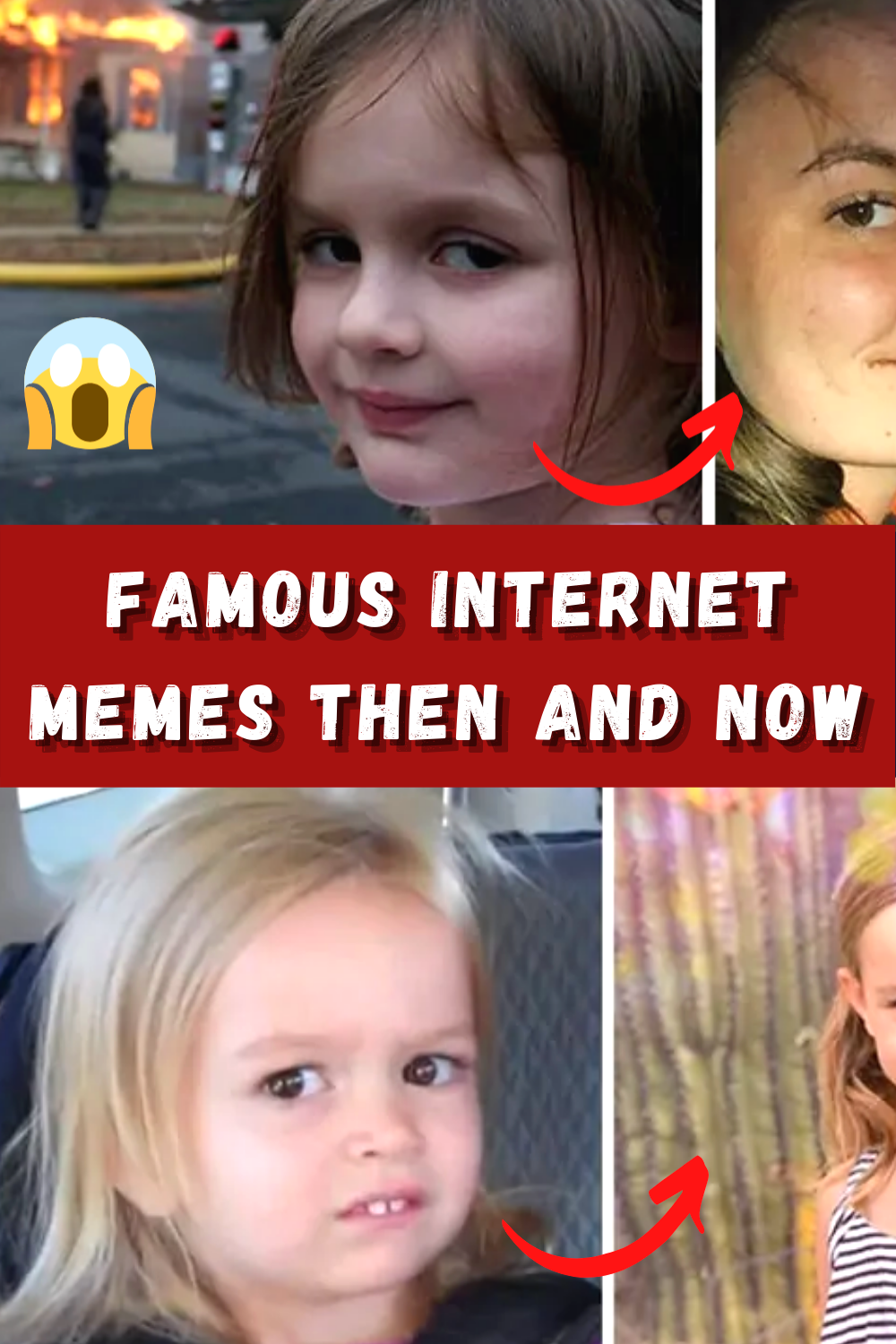 Everyone S Favorite Memes Are All Grown Up Here S What They Look Like Now Fashion Hacks Clothes Gadgets Technology Awesome Celebrity Lifestyle