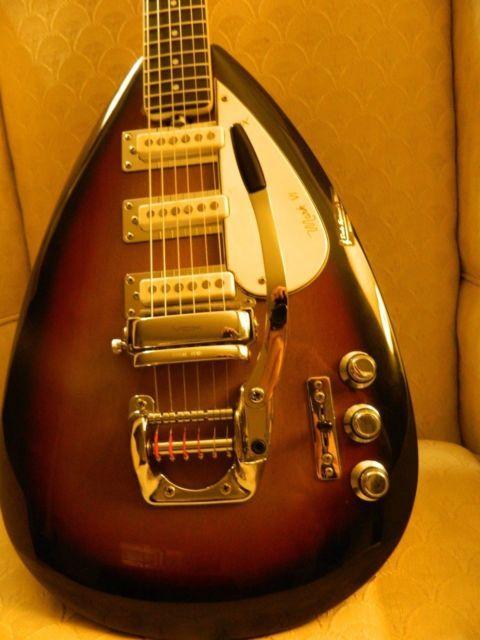 vintage mid 1960s vox mark vi teardrop guitar guitars guitar cool electric guitars guitar. Black Bedroom Furniture Sets. Home Design Ideas