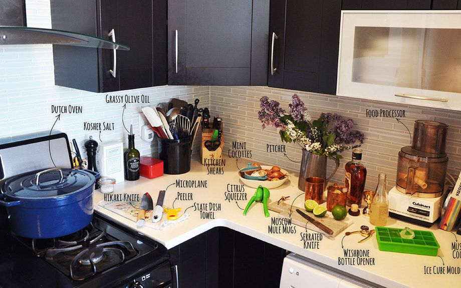 Inside A Food Wine Editor S Real Kitchen 17 Essential Tools To