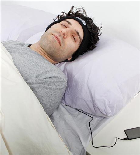SleepPhones Fleece Headband With Headphones Sleep