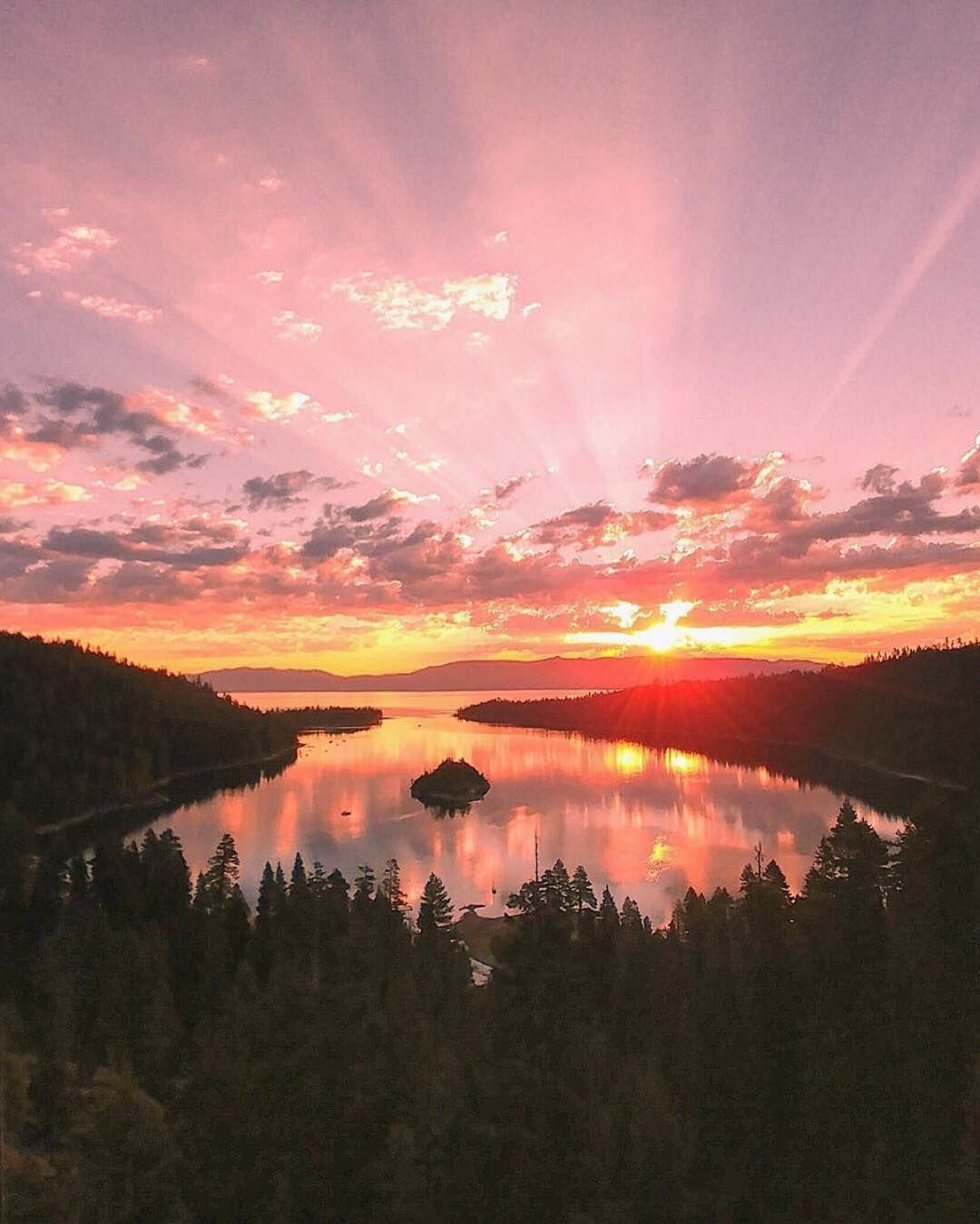 Lake tahoe sunset travel channel pinterest - Lake Tahoe The Sunrisesunsettravel