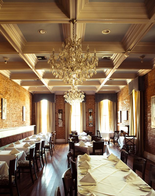 Coquette Bistro S Elegant Upstairs Dining Room New Orleans