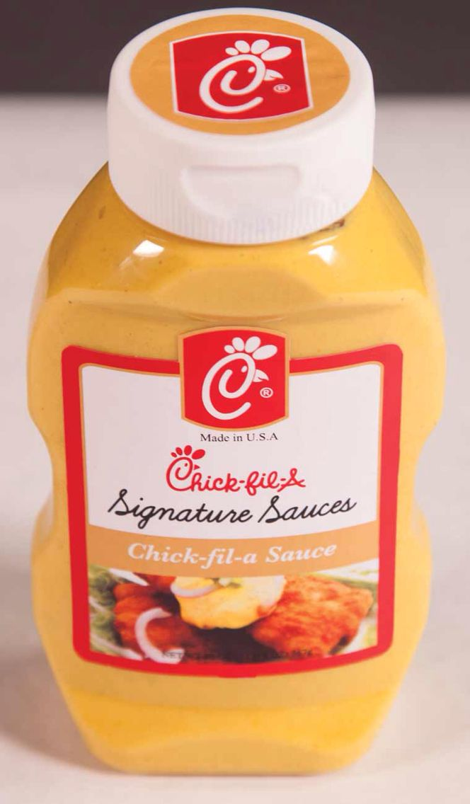 Big Bottle Of Chick Fil A Sauce Please Christmas