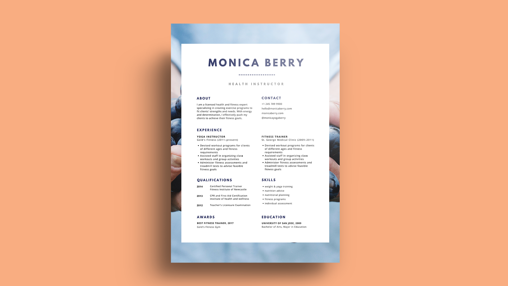 What is the best font for a resume? Inside, we find the