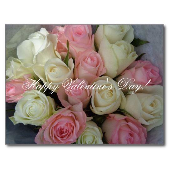 Valentine Flower Postcards http://www.zazzle.com/forever_love_postcards-239705490994243477 #ValentinesDay
