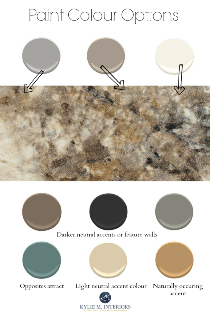 How To Create A Paint Colour Palette For Any Room Brown Granite