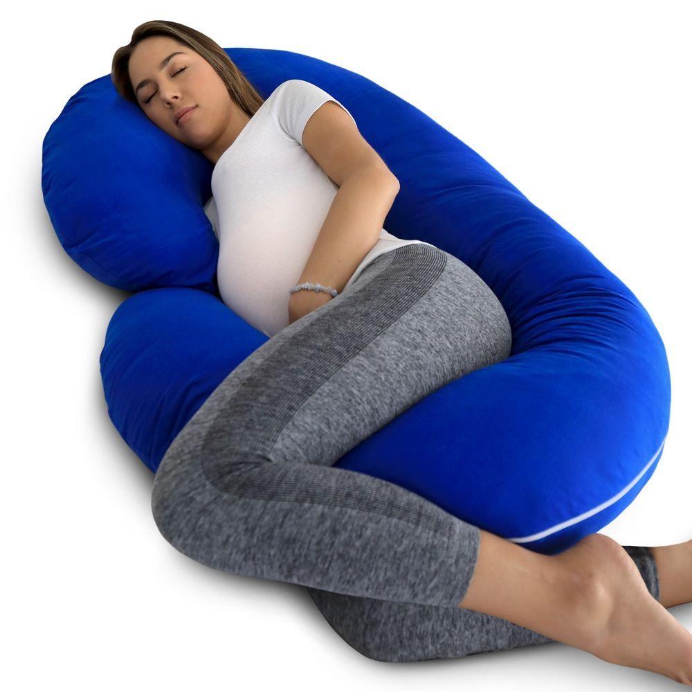 Hypoallergenic Full Body Pillowcase Pregnancy Maternity Cotton Pillow Cover