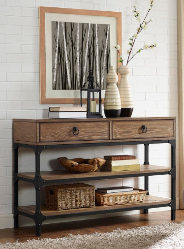A Rustic Chic Console Table From Shopko Console Table