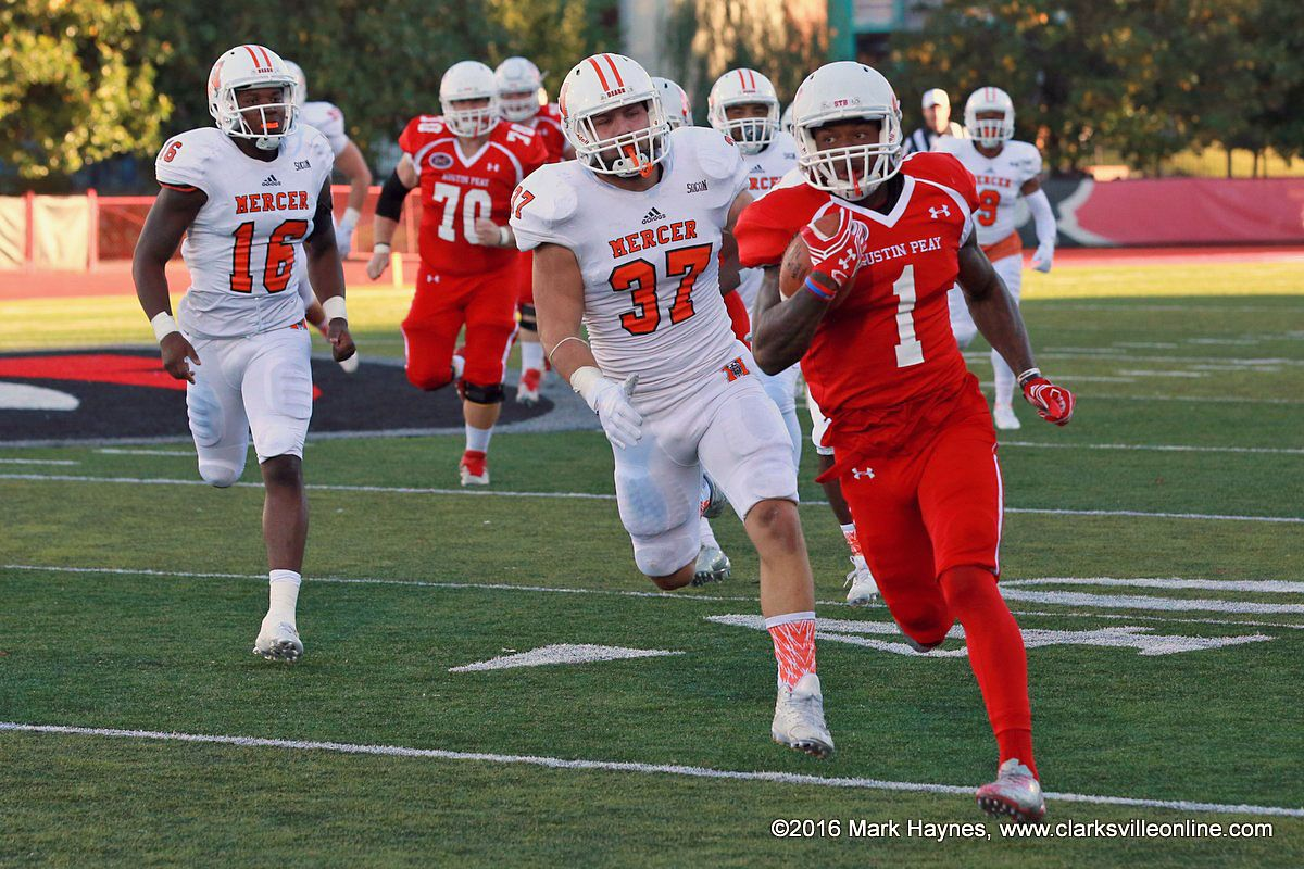Apsu football plays final ovc road game of the season at