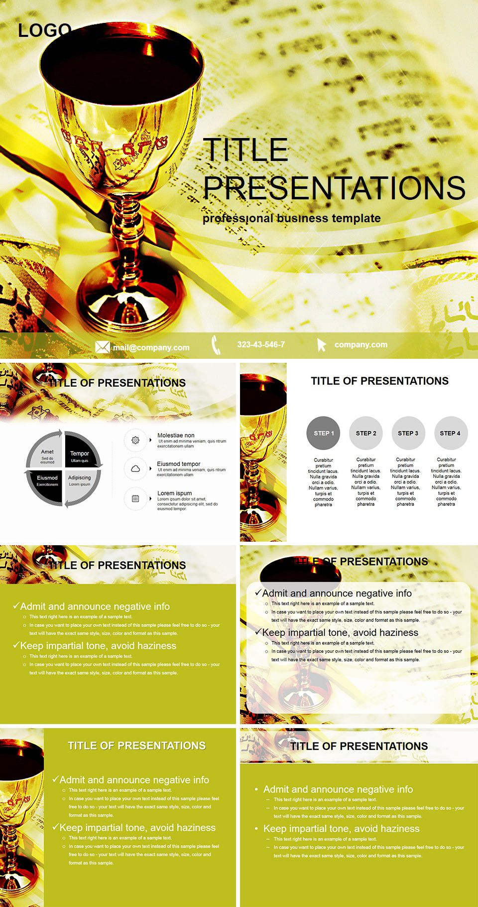 Holiday Passover Pesach Powerpoint Template Powerpoint Templates