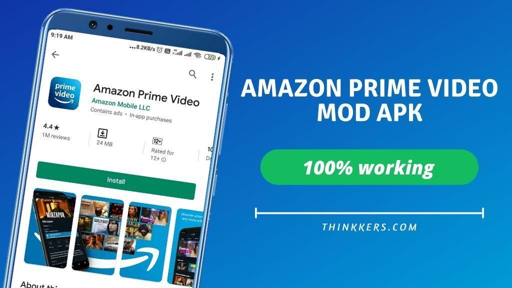 Amazon Prime Video Mod Apk V3 0 264 March 2020 Login Unlocked