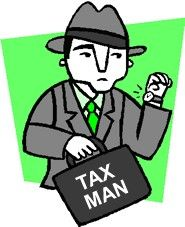 I pay the income tax to the government along with my property tax, since i live in burlington the taxes are above average.