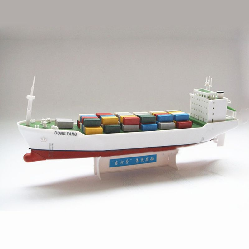 Oriental Electric Powered Container Ships Assembly Model Kits Diy Educational Toys Learn Ship Structure Children Diy Educational Toys Diy Kits Educational Toys