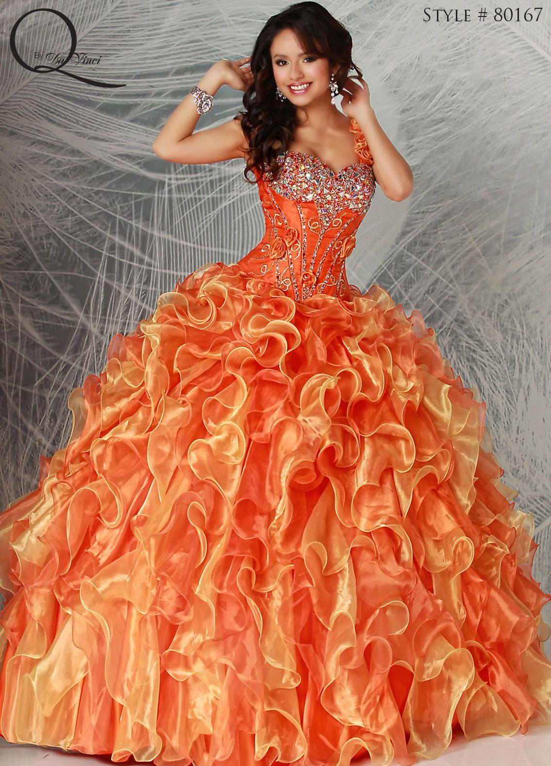 Buy Quinceanera orange dress pictures trends