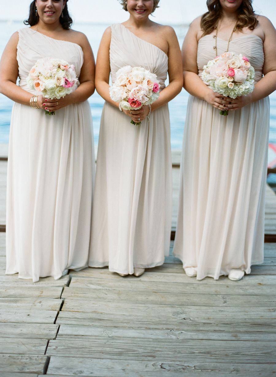 Chic modern wedding in madison bridesmaids dresses pinterest