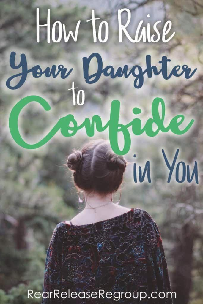 Raise your daughter to confide in you with this one simple tip #parenting