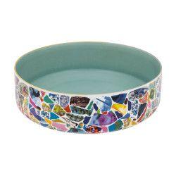"""#Porcelain """"Picassiette"""" collection large #bowl by #ChristianLacroix for Vista Alegre"""