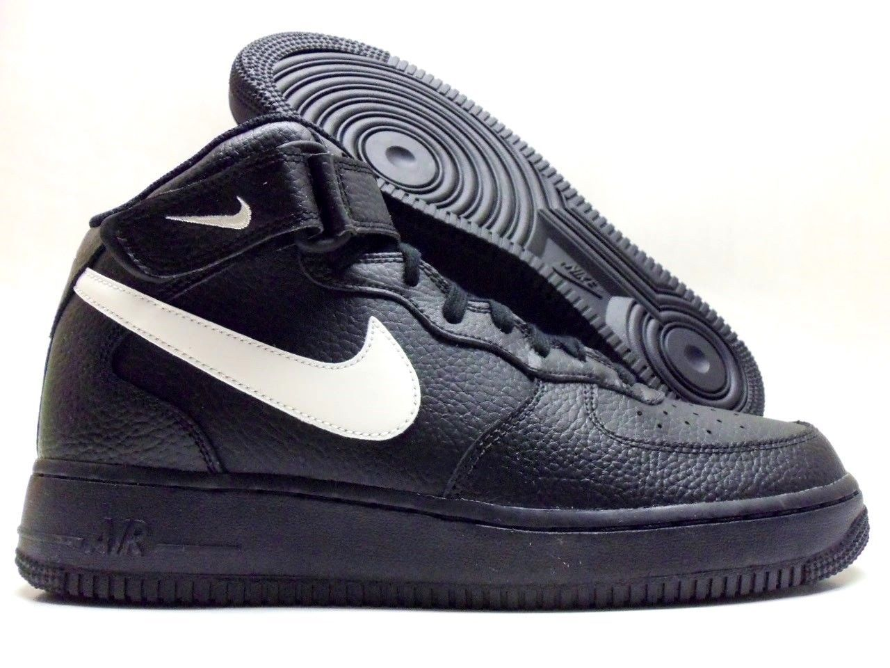 purchase cheap bef7c f0fab NIKE AIR FORCE 1 MID 07 BLACK SAIL WHITE 315123 043  airmaxalways   soletoday
