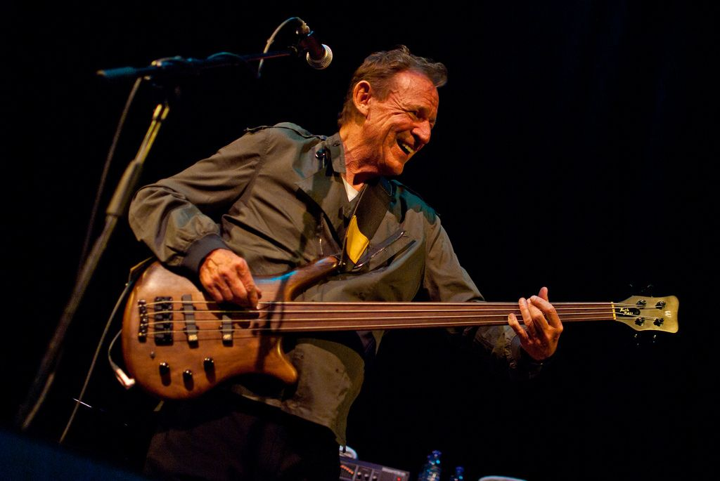 R.I.P. Jack Bruce (photo from his QH show in 2011)