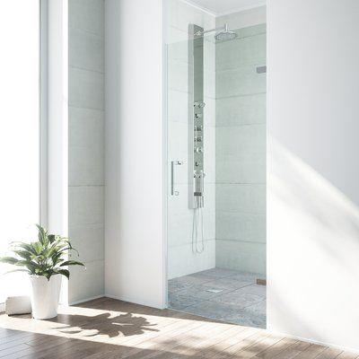 Vigo 37 With Images Frameless Shower Doors Sliding Shower