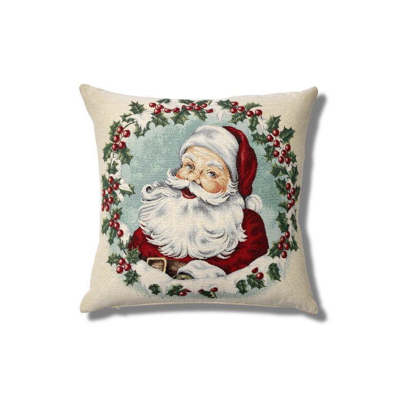 Coussin Père Noël Bouchara Dimensions 45x45cm Linge De