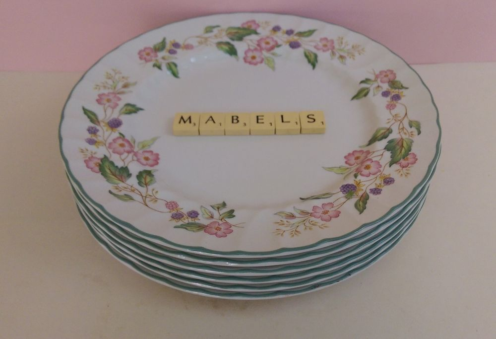 Bhs ~VICTORIAN ROSE~ large dinner plates x 6 & Bhs ~VICTORIAN ROSE~ large dinner plates x 6 | Bhs Victorian and ...