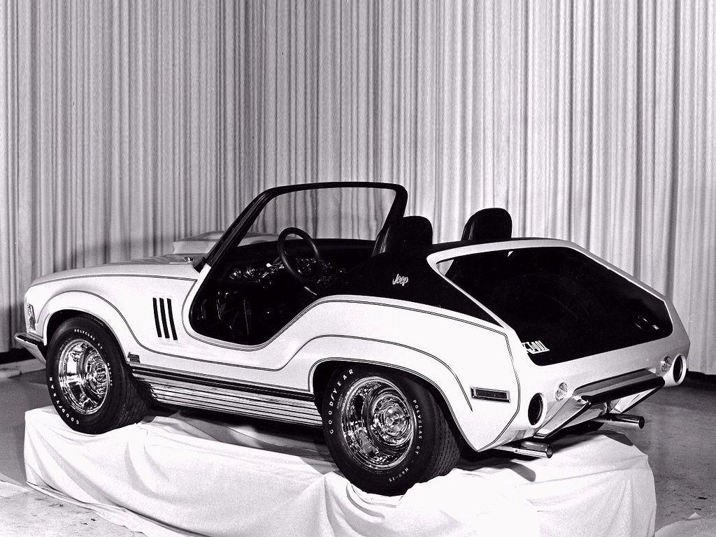 1969 Jeep XJ001 Concept Jeep concept, Concept cars