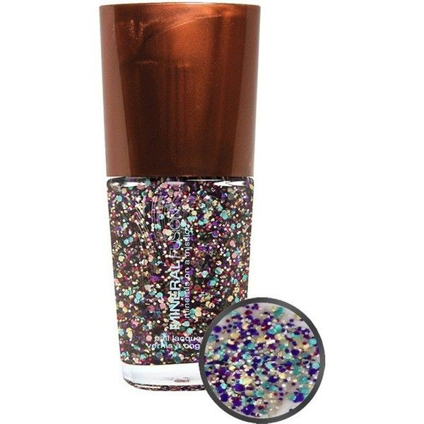 Mineral Fusion Nail Lacquer Confetti 0.33 oz. ❤ liked on Polyvore ...