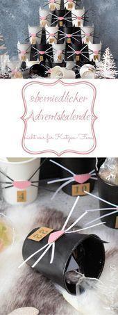 Niedlicher Adventskalender – nicht nur für Katzenliebhaber – Weihnachten: Bas ….,  #Advents…