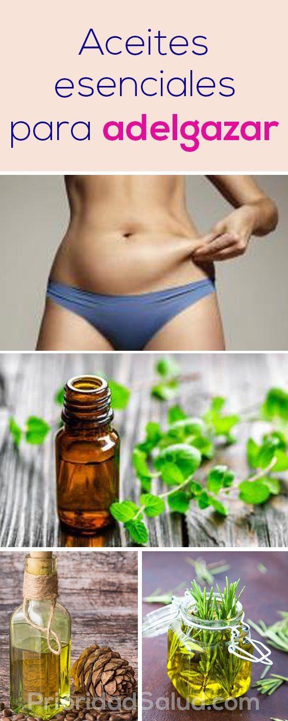 Aromaterapia para adelgazar