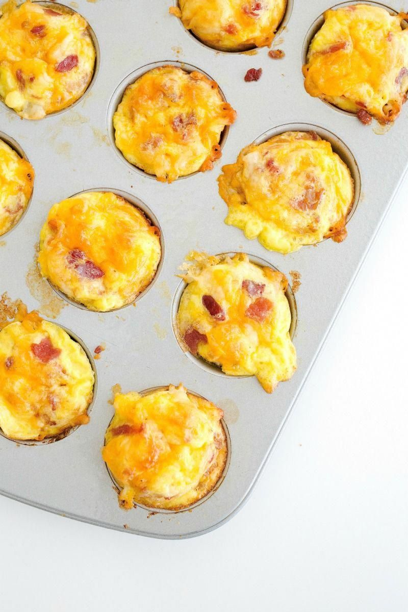 These Bacon Egg & Cheese Bites are quick, easy and oh so