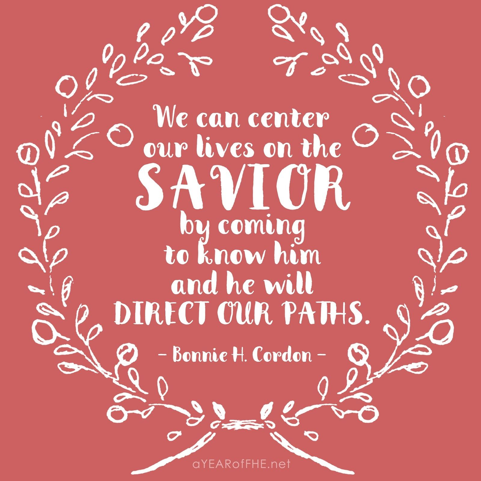 Direct General Quote A Year Of Fhe  Quote From The Lds General Conference Women's