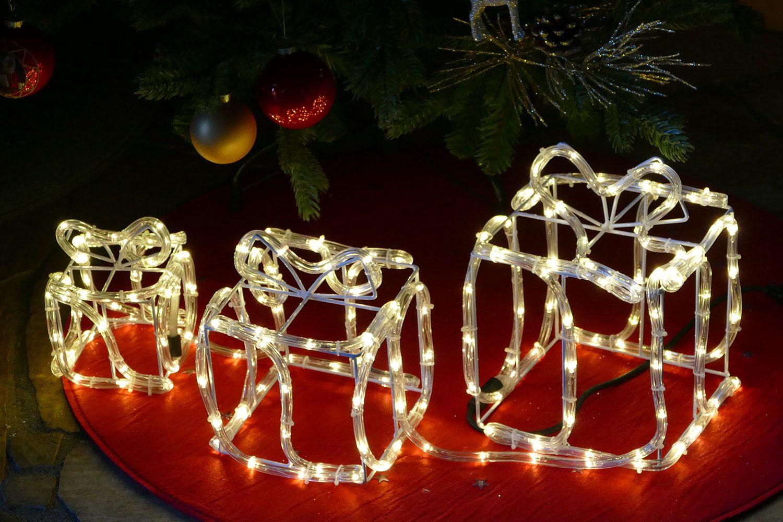 Beleuchtete Geschenkboxen Zur Weihnachtsdeko 2018 Im Haus Oder
