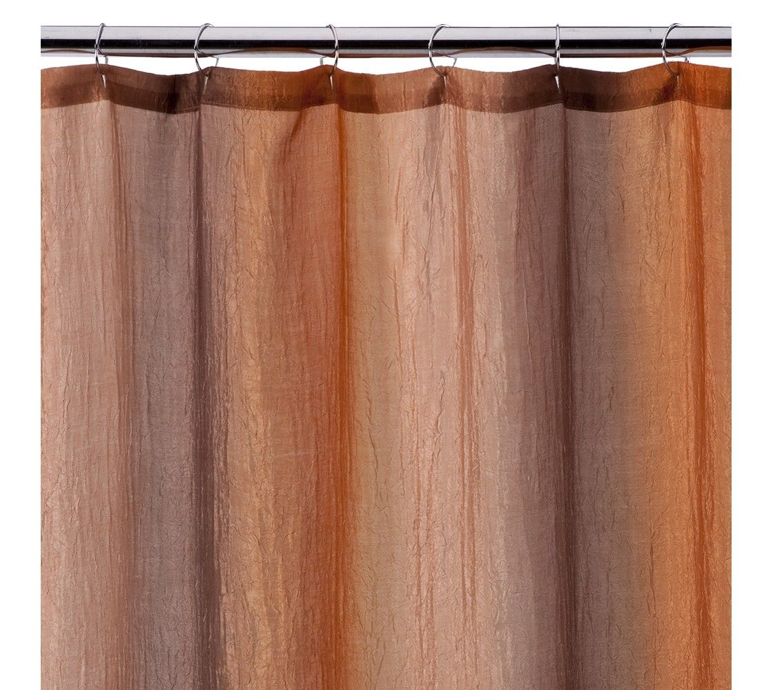 Ombre print shower curtain brown gold projects to try