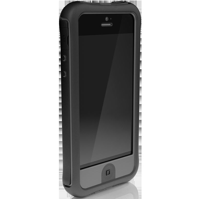 Ballistic Every1 Series: Dark Charcoal Black iPhone 5 Case - $49.99