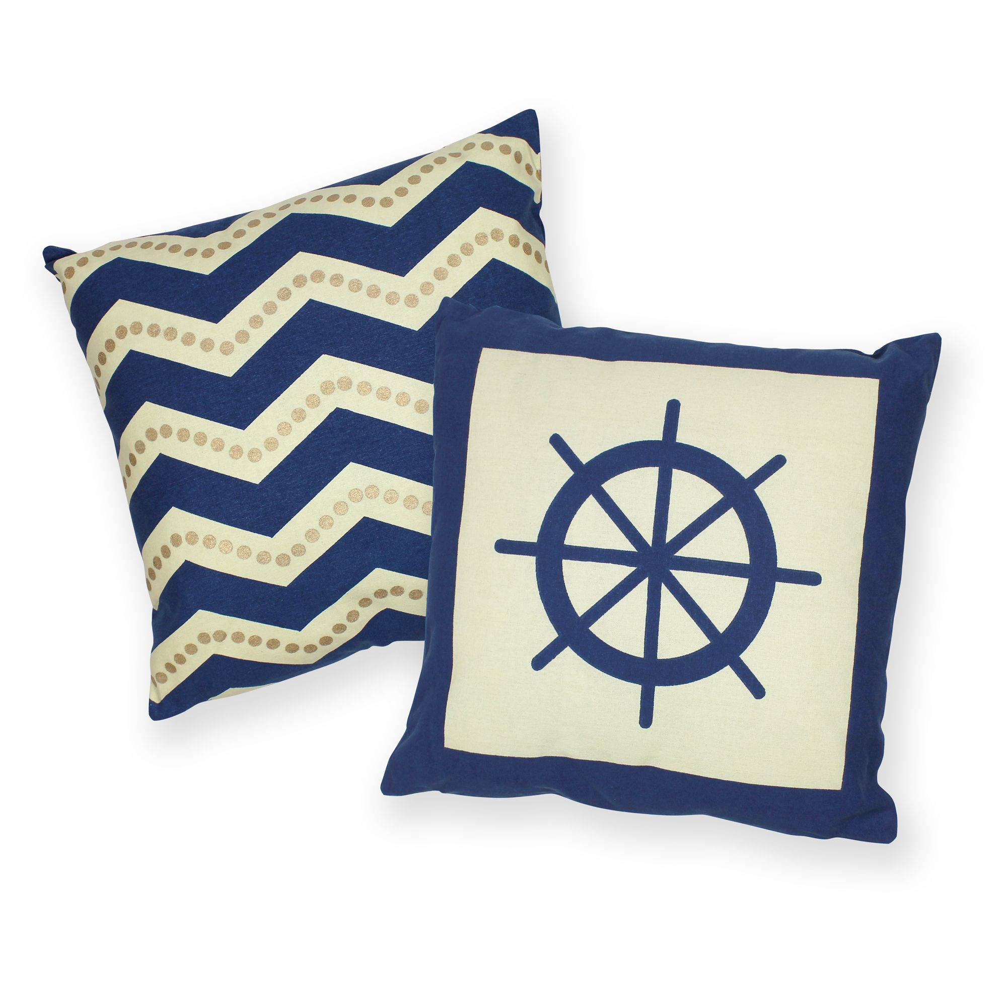 anchor nautical orders throw on velvetloft overstock free pillows home garden shipping product pillow over