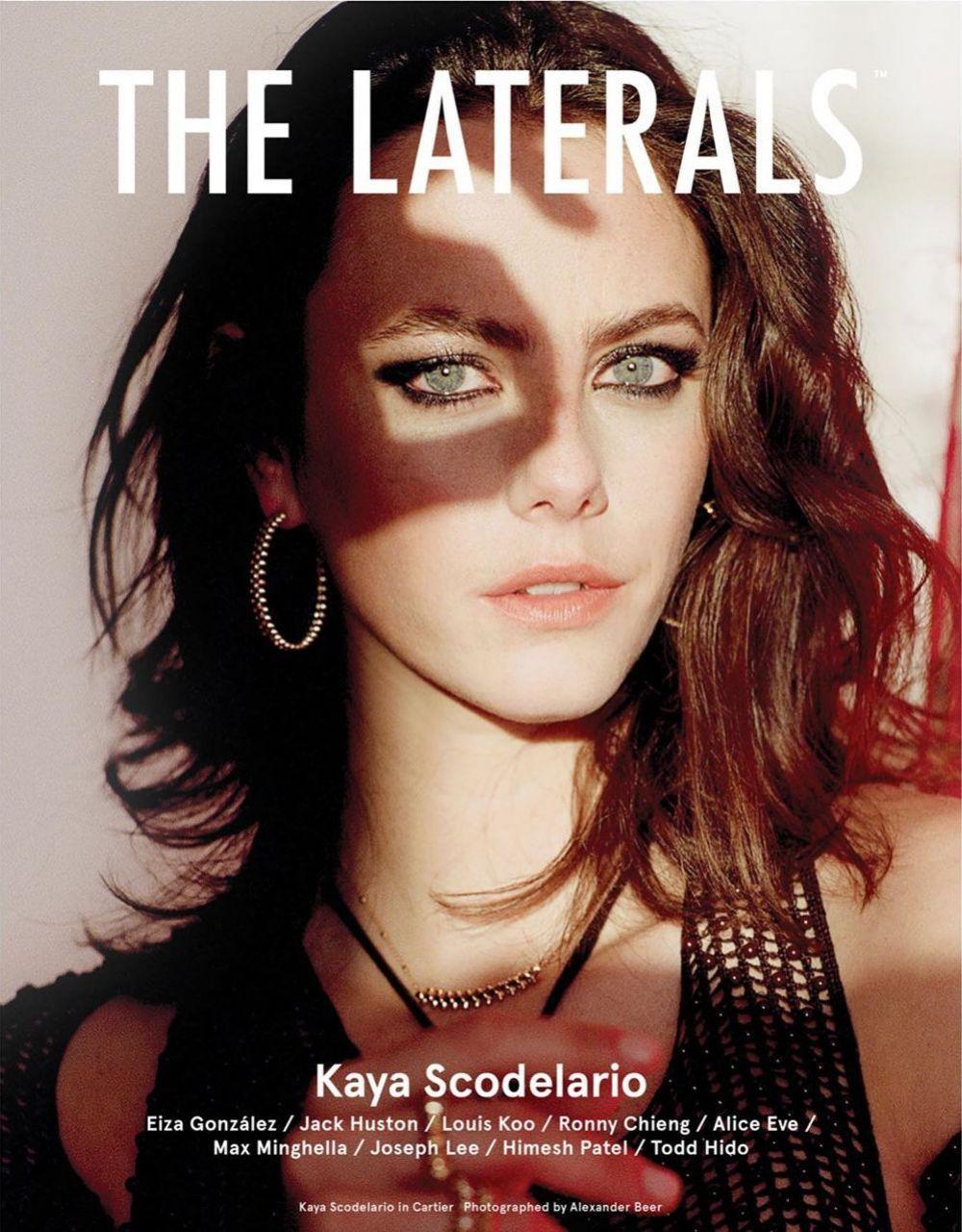 KAYA SCODELARIO for The Laterals Magazine, April 2020 in 2020 | Kaya scodelario, Kaya, Louis koo