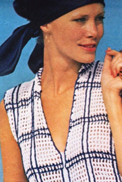Crochet Tunic Top Pattern, Zip up Coverup Beach Tunic Ladies Women's Pattern - Crochet Bikini Cover-up Pattern,  Digital Download 11