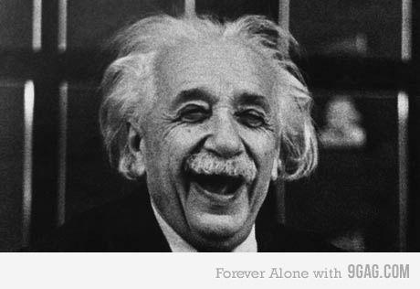 Happy Einstein!