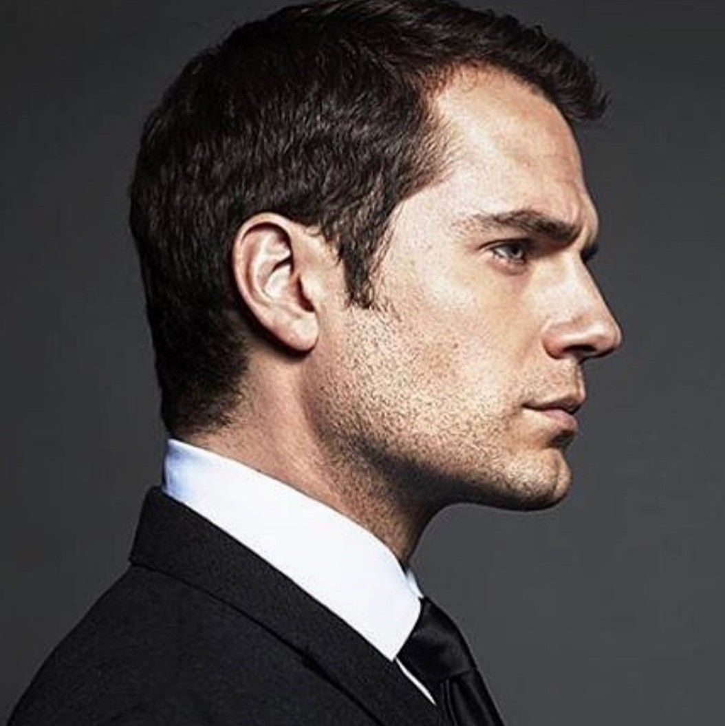 The exceptionally beautiful Mr Cavill at the BAFTAS (Feb