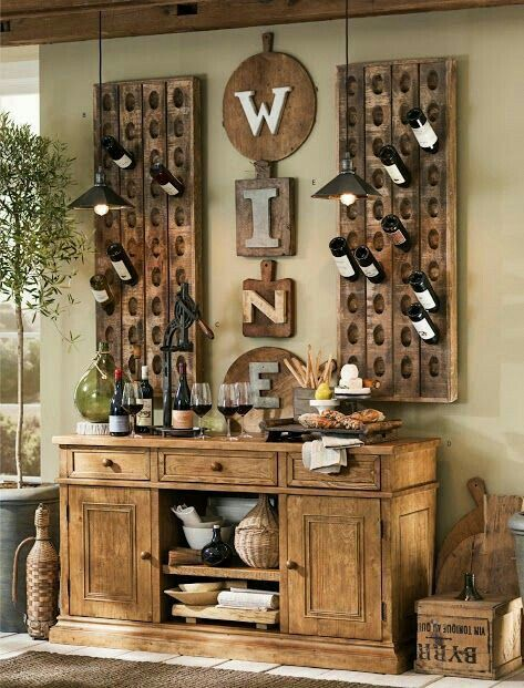 Rustic Standing Wine Opener Modeled after a vintage professional wine opener the tabletop version securely holds a wine bottle in place for uncorking. & Pin by Carla Jo Norat on Bar | Pinterest | Kitchen updates Wet bars ...