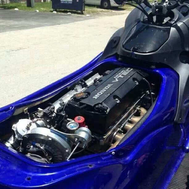 Like What S2k F20 In A Jet Ski Its Just A 4 Cylinder Hahaha