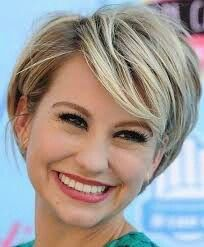 Short Hairstyles For Square Faces Pinелена On Стрижки  Pinterest  Short Hairstyle Hair Makeup
