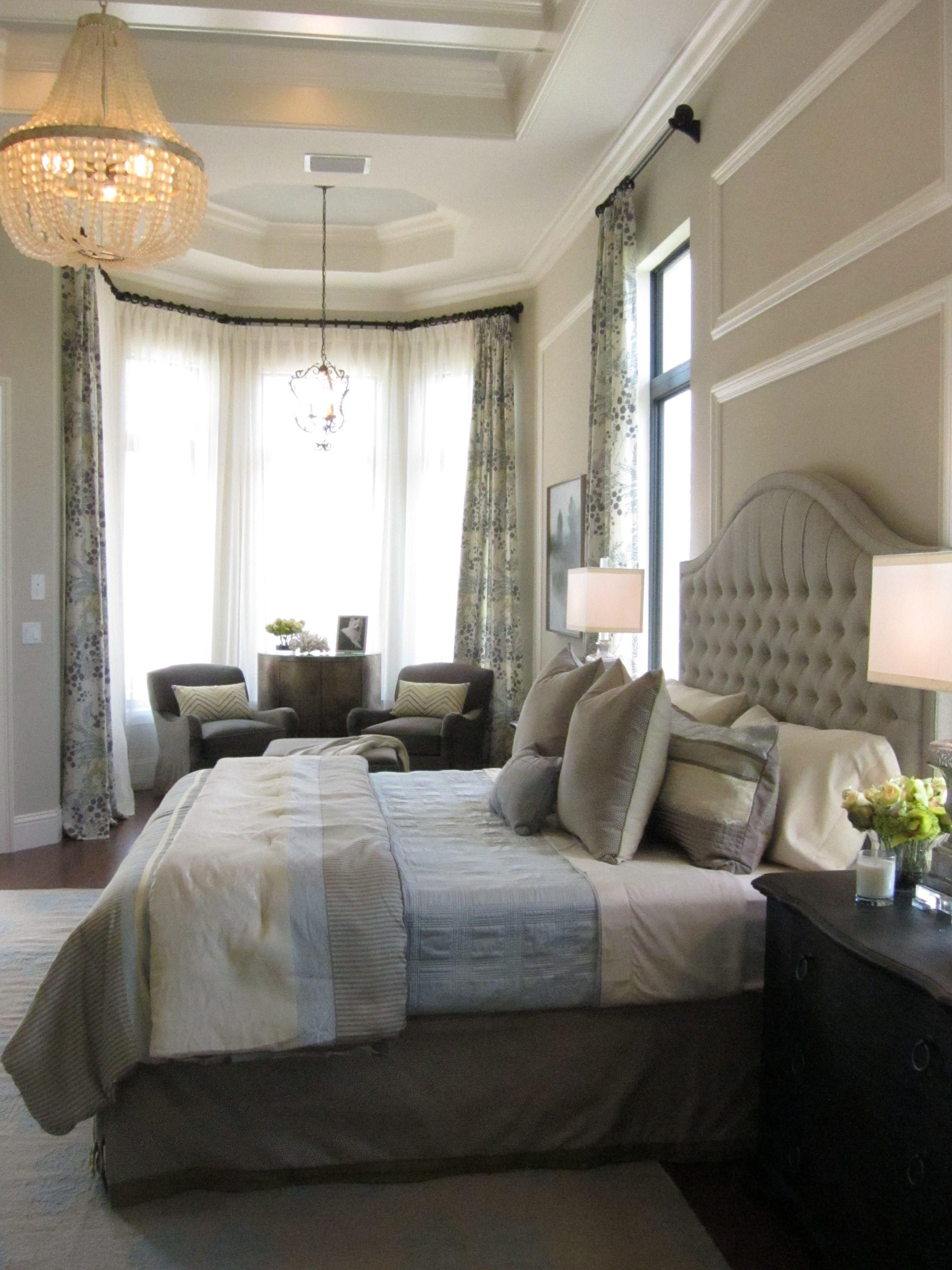 Model home design by Beasley & Henley Interior Design # ... on Model Bedroom Interior Design  id=42285